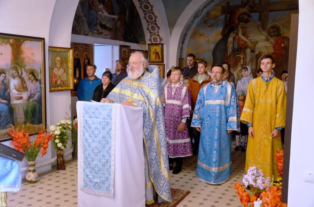 День знаний на приходе Никольского храма села Горки