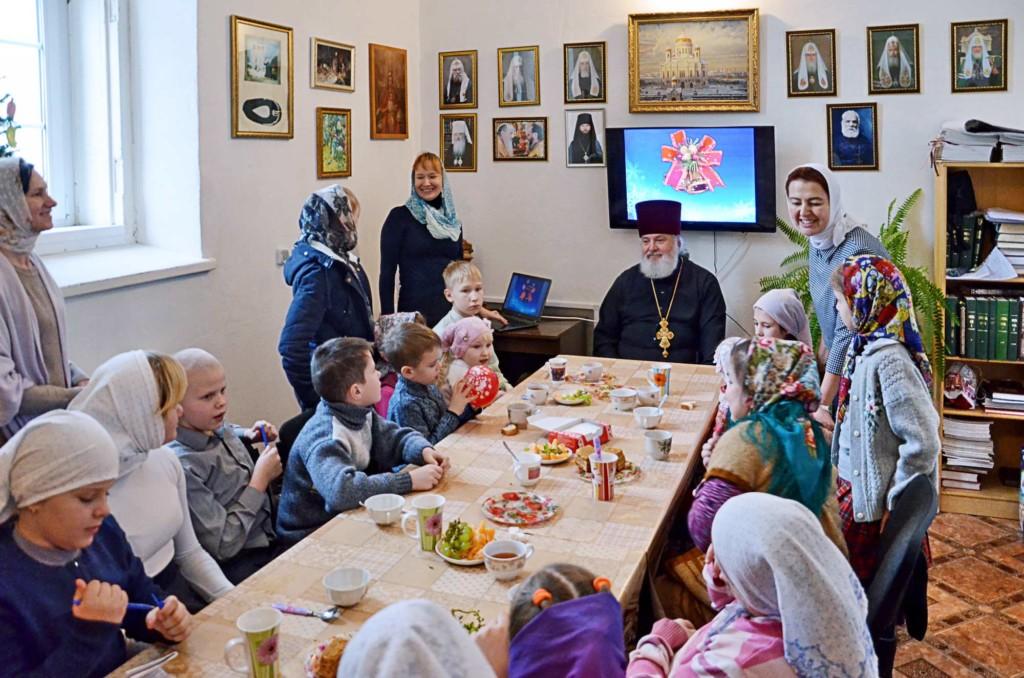Рождество Христово на приходе Никольского храма села Горки