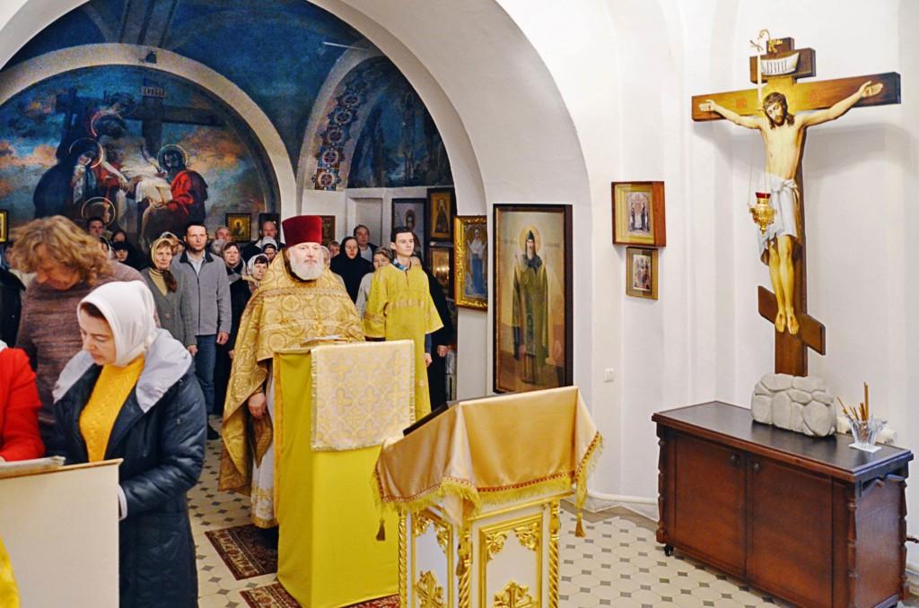 Новолетие на приходе Никольского храма села Горки