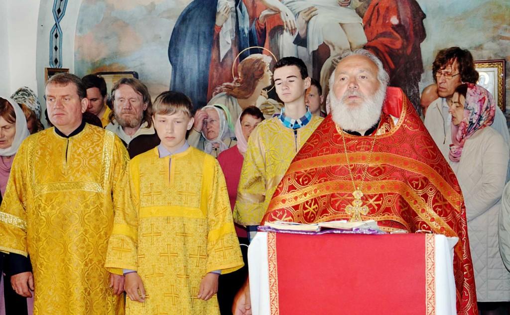 День Победы на приходе Никольского храма села Горки